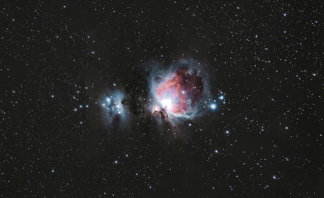 imagem constelação de orion